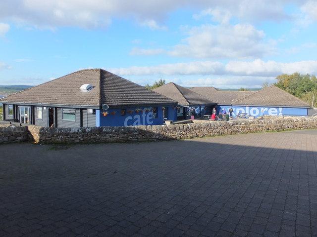 Café and shop complex, Tower Knowe