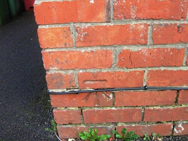 Bench mark, 291 Warsash Road