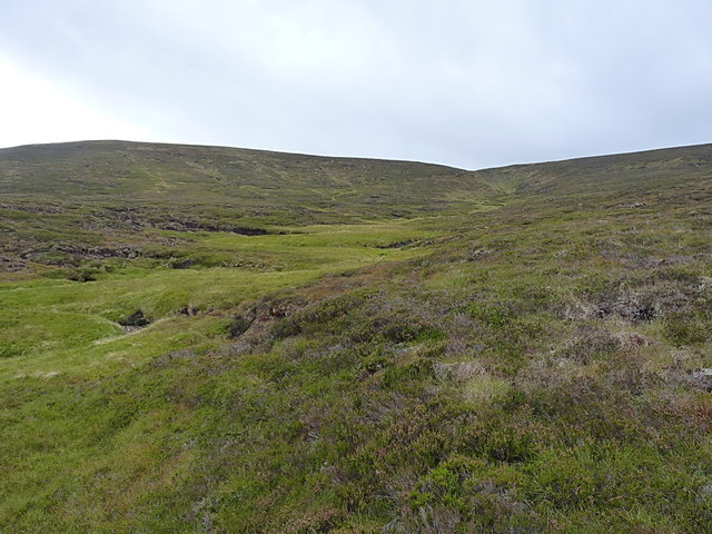The valley of the Allt Leac an Taobhain