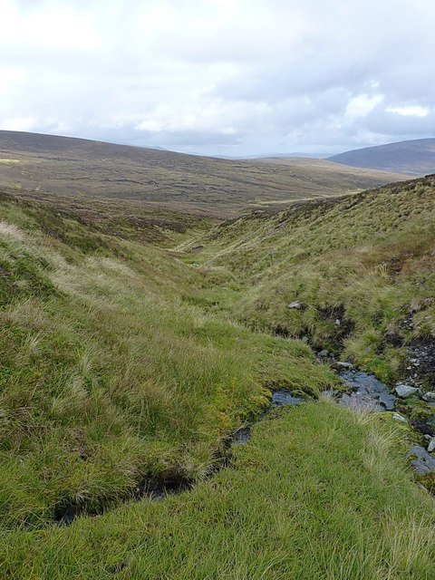 Steeply down the eastern flank of the Corbett