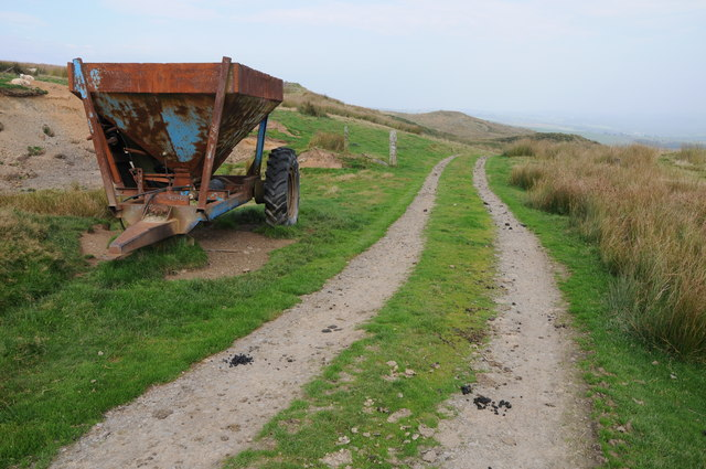 Farm machinery and upland track
