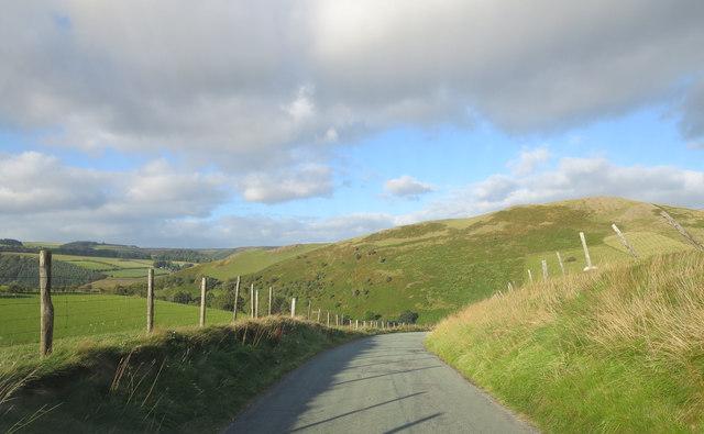 Lane south of Cyrchnan-isaf
