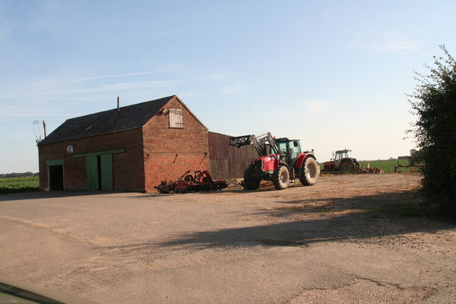 Farm building on the Butterwick Road