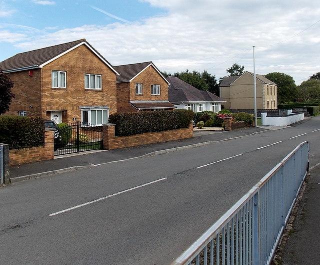 Pencefnarda Road houses, Penyrheol, Gorseinon