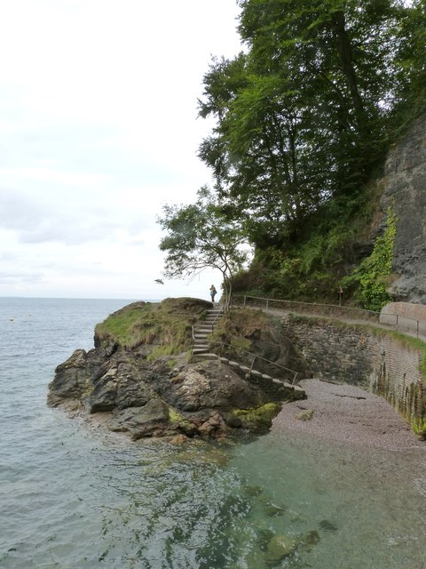 Halt Tide Rock, Babbacombe, Devon