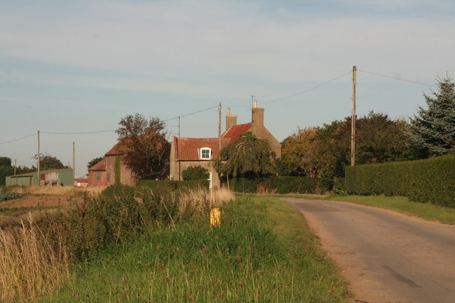 Benington Sea End Farm, off Crowhall Road in Sea End Lane