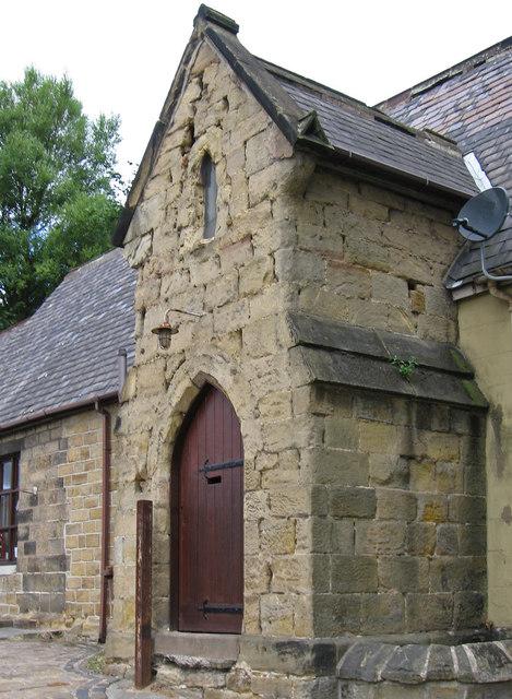 Pontefract - former All Saints School entrance