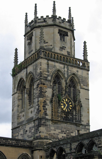 Pontefract - All Saints Church tower