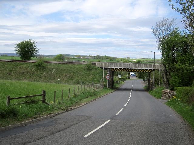 Railway bridge, Lugton