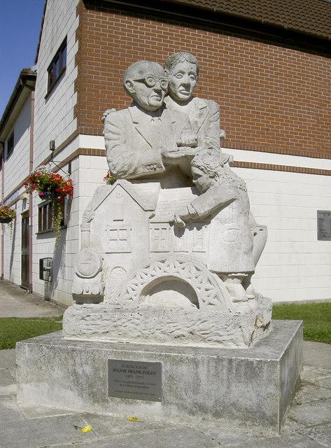 Foley statue