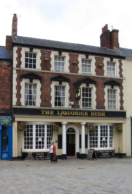 Pontefract - The Liquorice Bush