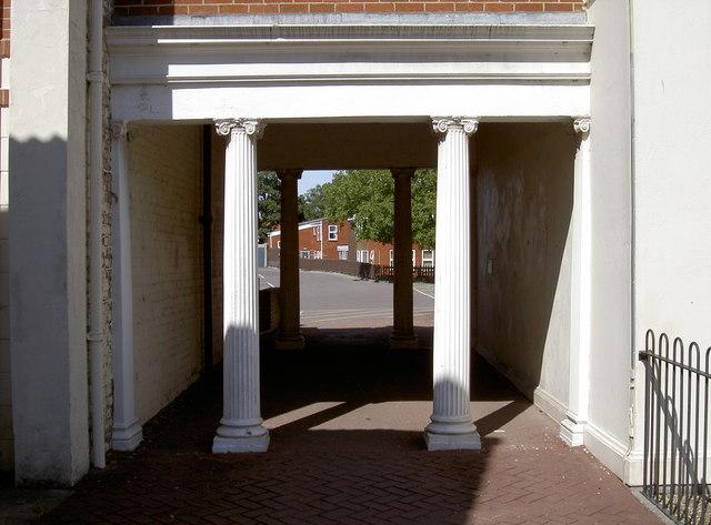 Classical walkway