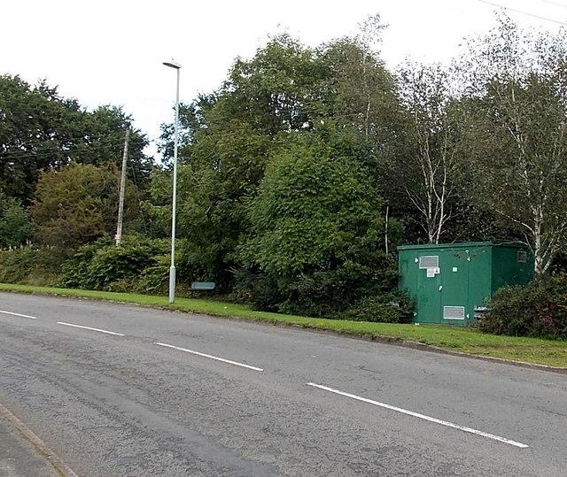Gas governor alongside Coalbrook Road, Grovesend