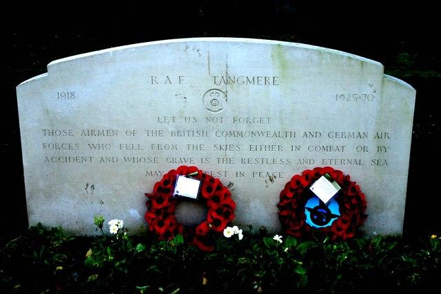 RAF Tangmere Memorial Stone