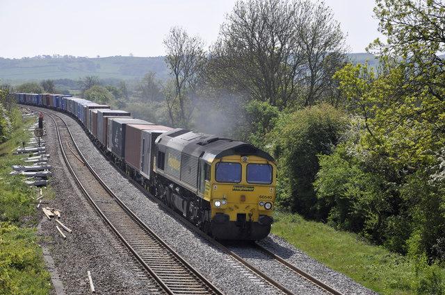 Railway near Bishops Itchington