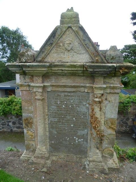 Gravestone of John and Helen Fair, Kilconquhar Kirkyard