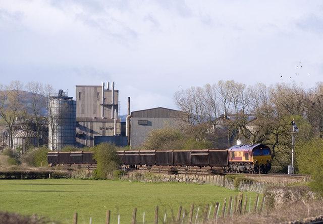 Railway near Coed More Farm