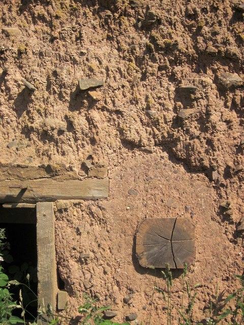 Cob wall, Lower Adworthy