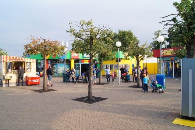 LEGOLAND entrance concourse