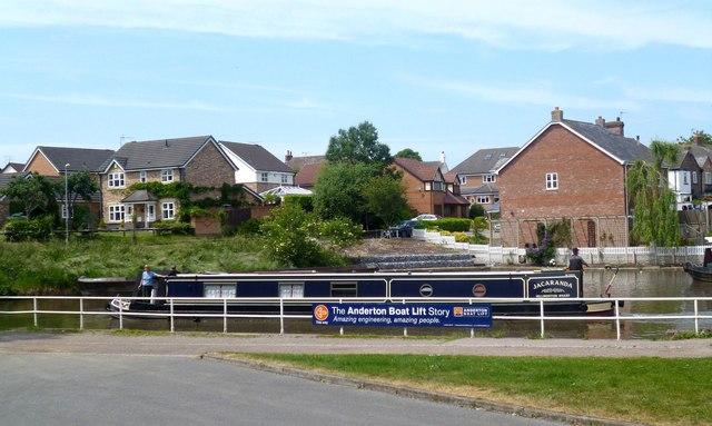 Canal Scene Near The Boat Lift