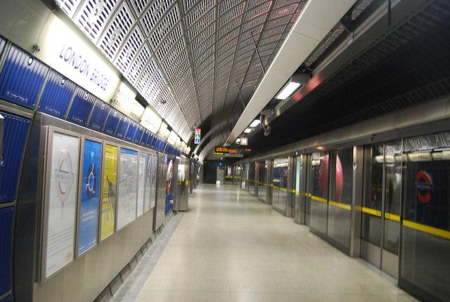 Jubilee Line at London Bridge