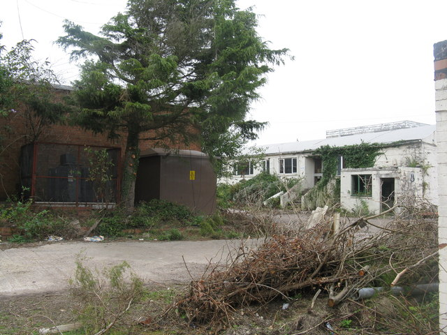 Derelict Pine End Works at Lydney