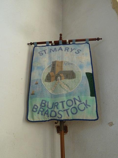 St Mary, Burton Bradstock: banner