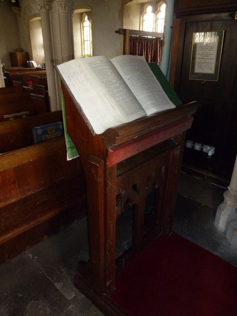 St Mary, Burton Bradstock: lectern