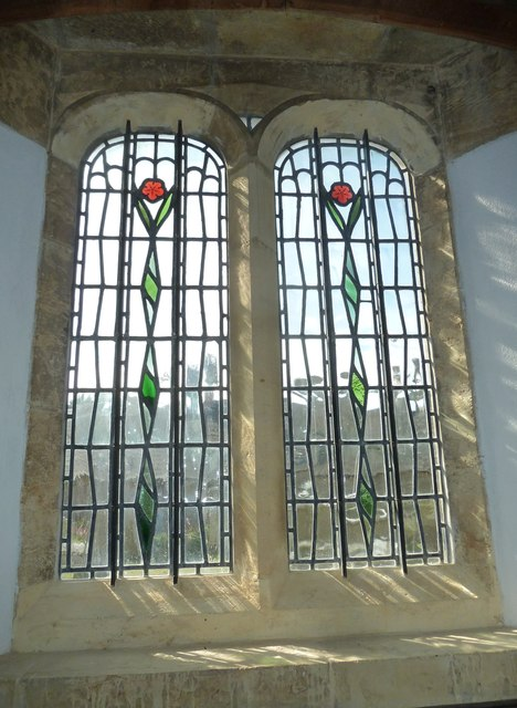 Inside St Mary, Burton Bradstock (D)