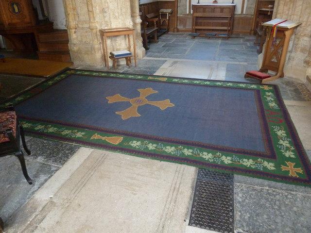 Inside St Mary, Burton Bradstock (G)