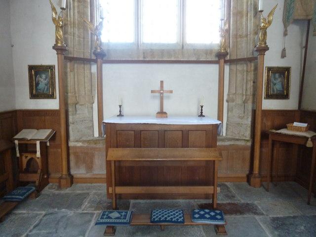 Inside St Mary, Burton Bradstock (H)