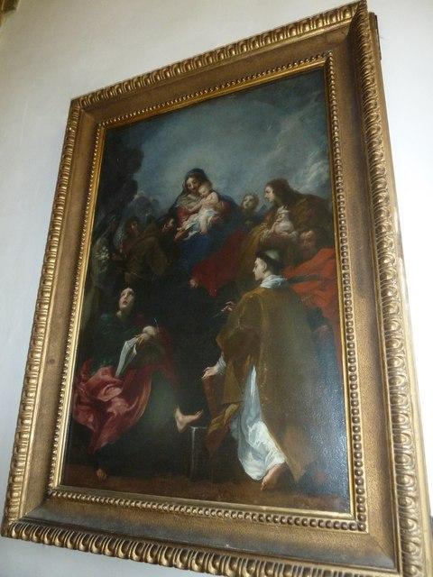 Inside St Mary, Burton Bradstock (I)