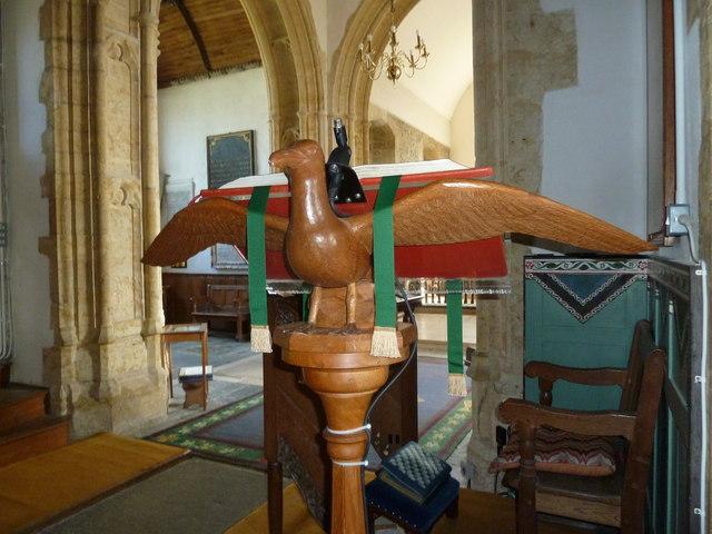 Inside St Mary, Burton Bradstock (J)