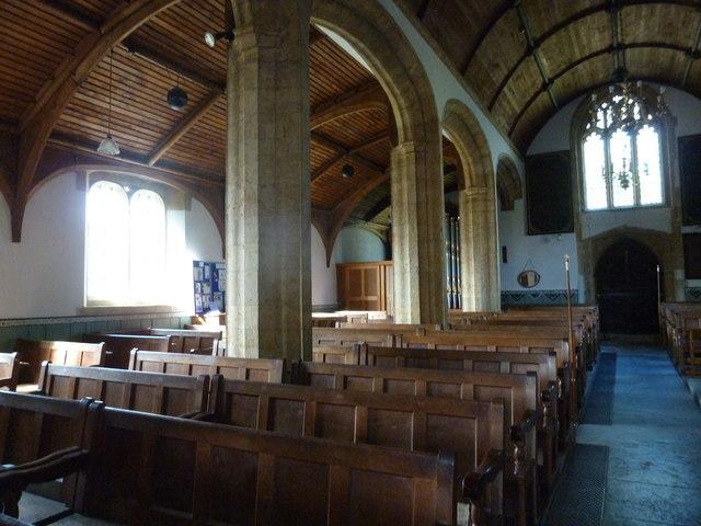 Inside St Mary, Burton Bradstock (K)