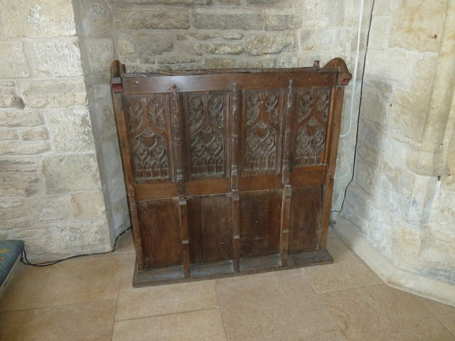 Inside St Mary, Burton Bradstock (L)