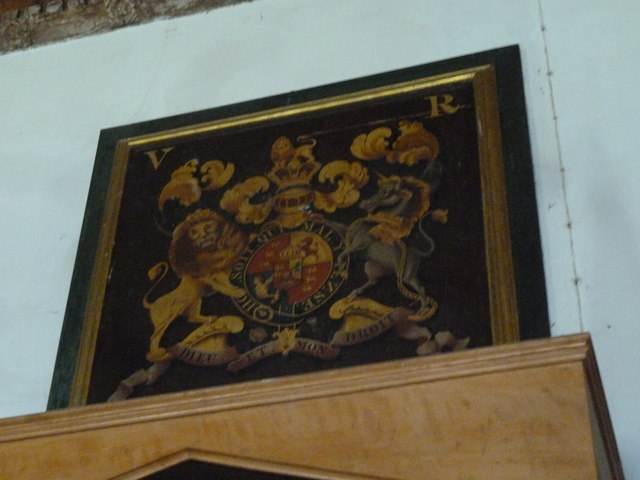 Inside St Mary, Burton Bradstock (M)