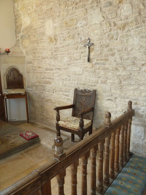 Inside St Mary, Burton Bradstock (N)