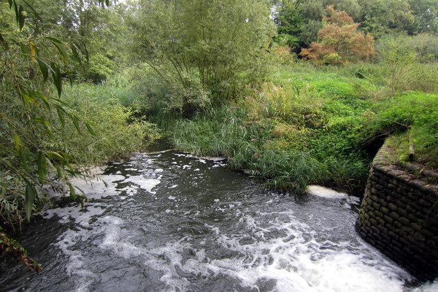 The leat flowing off Great Ouse