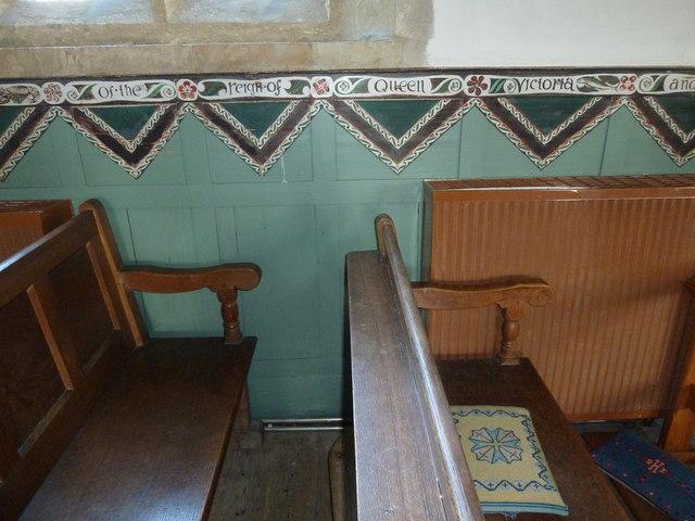 Inside St Mary, Burton Bradstock (Q)