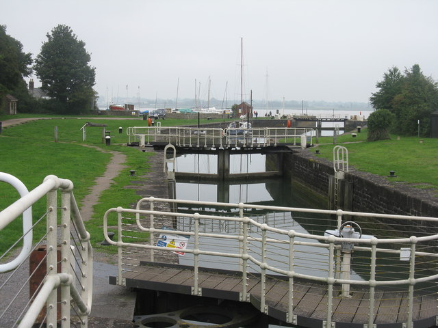 Lock at Lydney Harbour