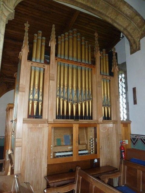 St Mary, Burton Bradstock: organ