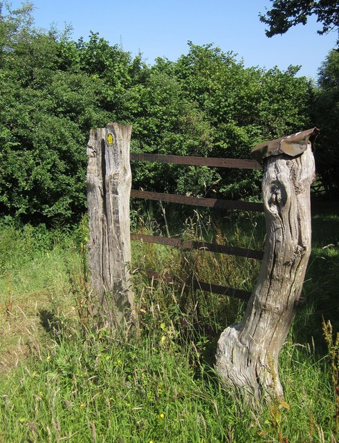 Old gateposts, Lower Adworthy