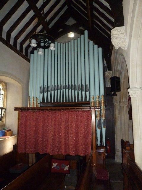 Saint Martin, Shipton Gorge:  organ
