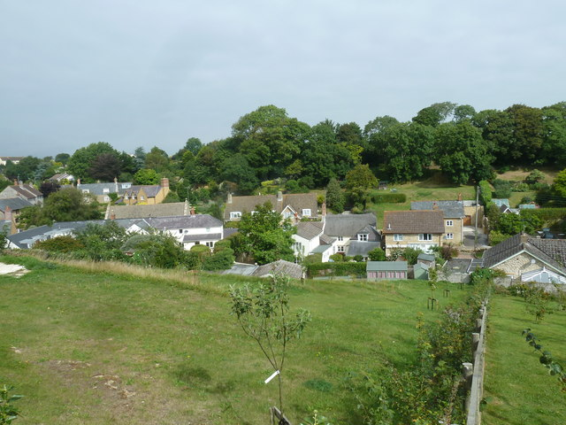Saint Martin, Shipton Gorge: view from the churchyard (iv)