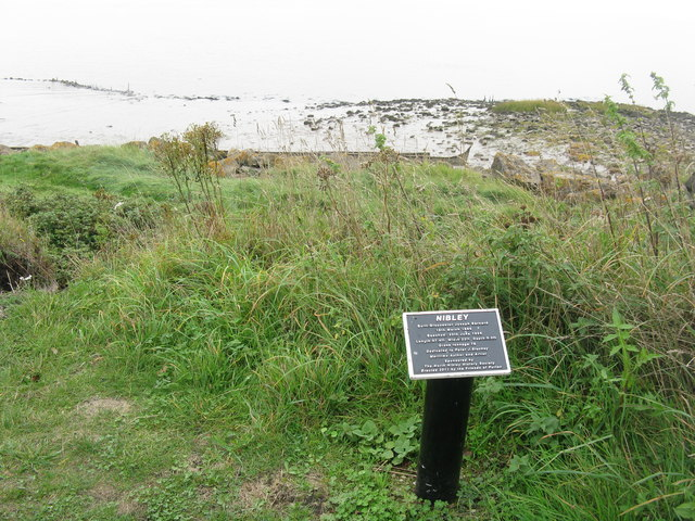 Plaque for the boat 'Nibley'