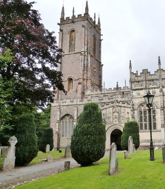 St Peter's Church, Tiverton, Devon