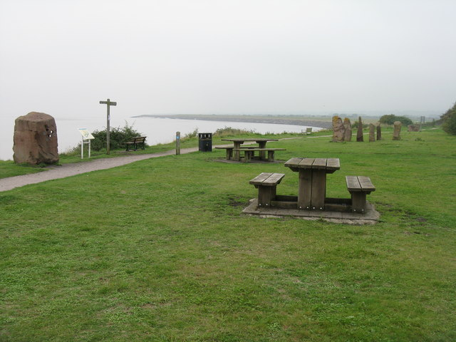 Picnic site and stone circle