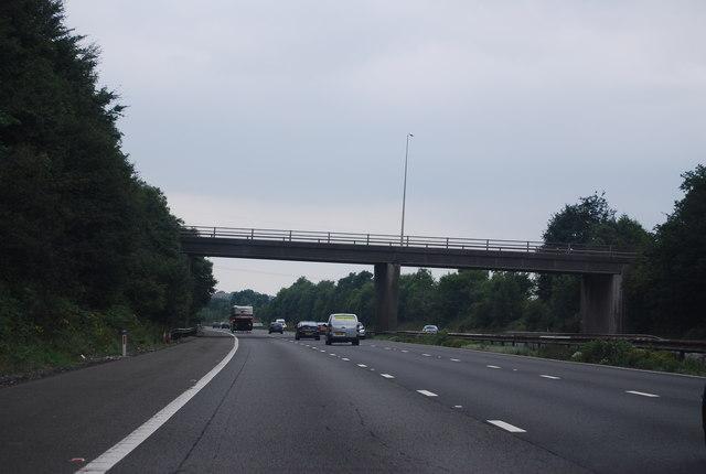 A4222 bridge, M4