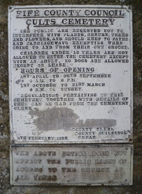 Old Fife County Council notice