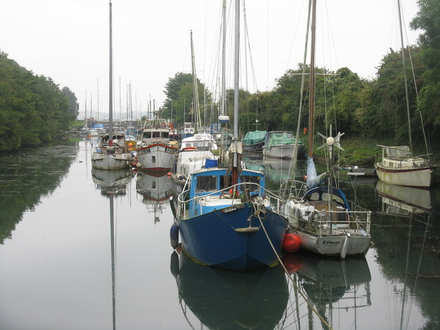 Boats in Lydney Harbour